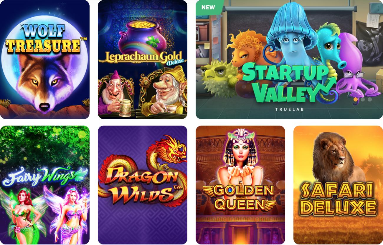True Flip Online Casino Games