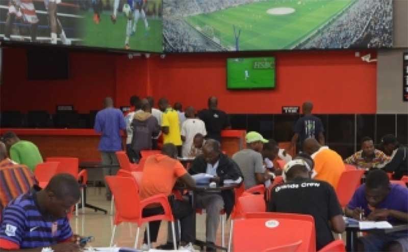 Sports gambling is very popular in Zimbabwe.
