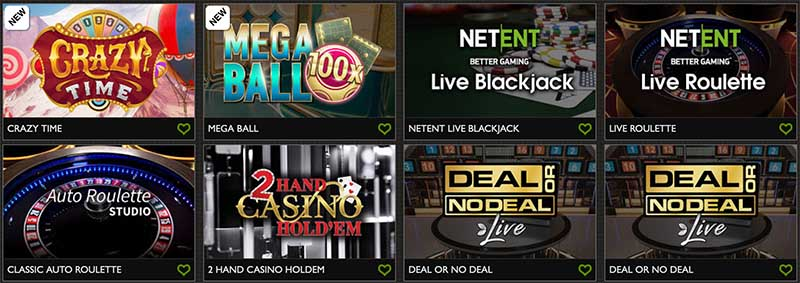 Gday casino have a great live dealer selection