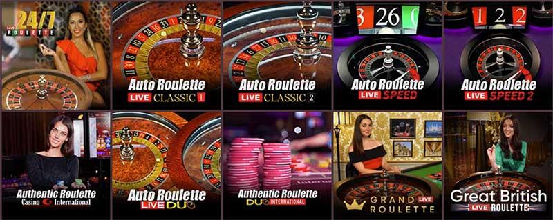 Gunsbet has a great live dealer casino