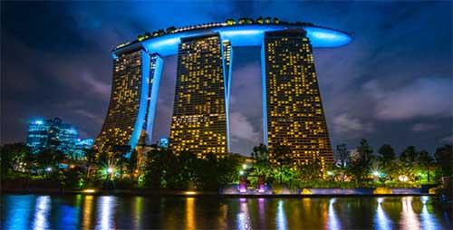 Marina Bay Sands Casino in Singapore